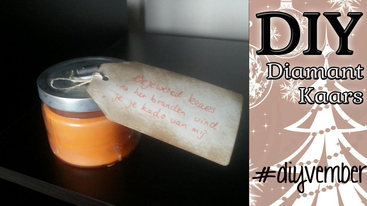 DAG 6 Diy Diamond Candle Zelf Maken DIYVEMBER