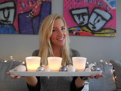 Snelle simpele kerst DIY #1: kaarsenhouder