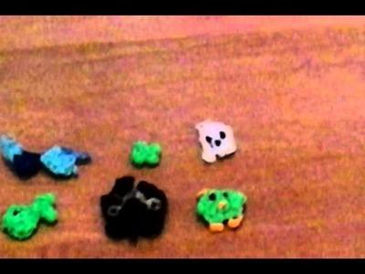 Rainbow loom, dit zijn mijn figuurtjes