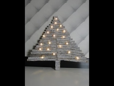 DIY Kerstboom van hout - DIY Christmas Tree