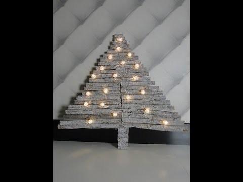 DIY Kerstboom van hout - DIY Christmas Tree