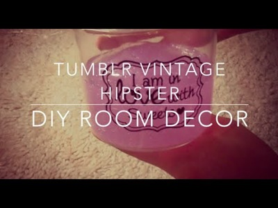 DIY Tumblr Room Decor (Spring) | Anna