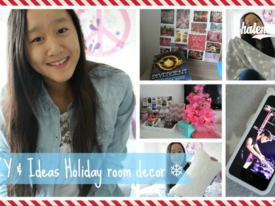 ❄ DIY & Ideas Holiday room decor #XmasWithVal ❄