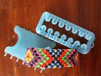 Rainbow Loom: MOZAÏEK ARMBAND (Alpha Loom)