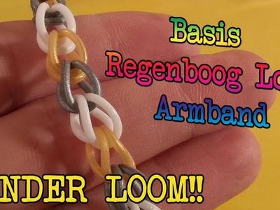 Diy Hoe Maak Je Een Basis Regenboog Loom Armband, Zonder Loom!