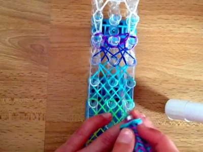 Rainbow loom Nederlands - Xkris Bracelet (Original design)