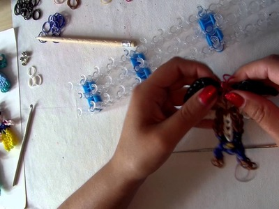 Rainbow loom band it tutorial captain jack sparrow deel 2 NL