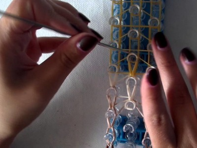 Rainbow loom band it tutorial disney prinses pocahontas NL deel 2