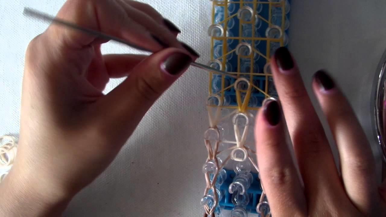 Rainbow loom band it tutorial disney prinses pocahontas NL deel 2