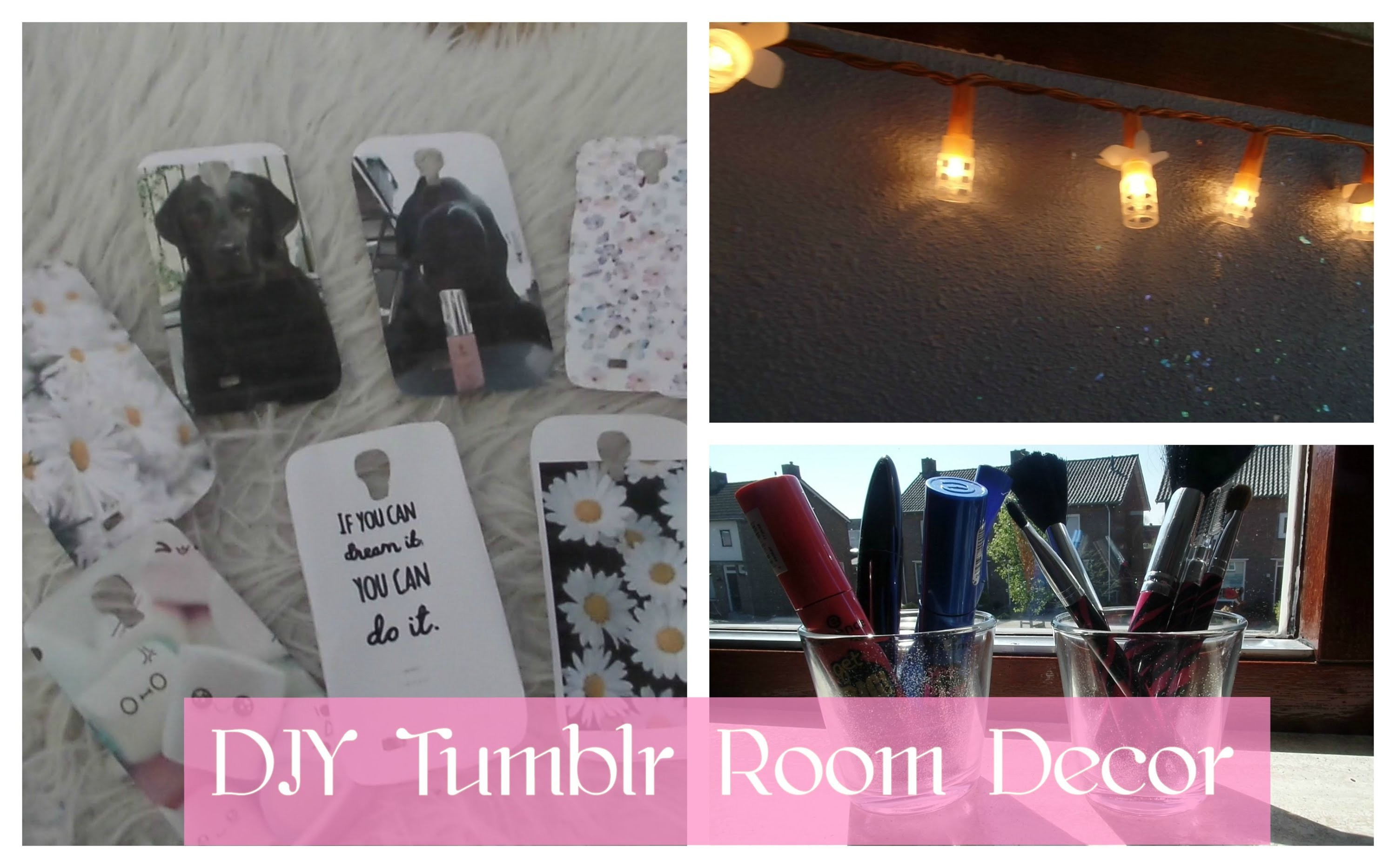 DIY Tumblr Room Decor - collab, DIY Inspiration