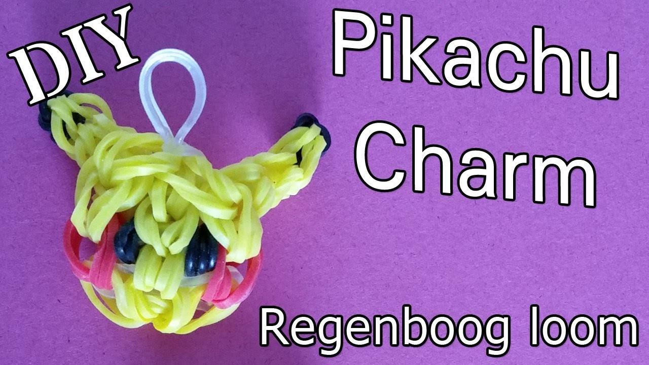 Rainbow Loom Nederlands, Hoe maak je een Pikachu Bedel?