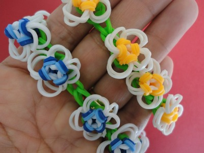 Rainbow Loom Nederlands, Summer Day, Armband, Monstertail en Loom