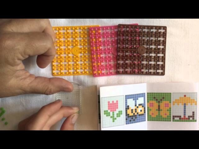 Unboxing pixel hobby in combinatie met rainbow loom (english subtitles)