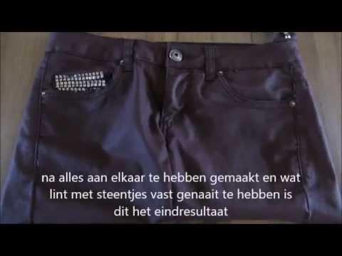 Diy tas | tutorial |jeans to bag