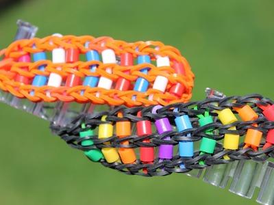 Rainbow Loom Nederlands, ladder armband met strijkkraaltjes