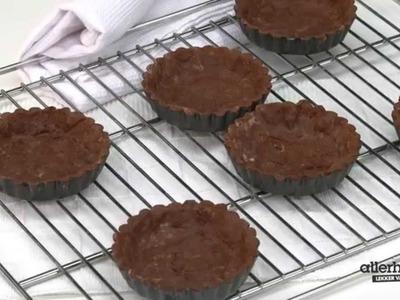 Chocoladetaartjes met karamel en zeezout - Allerhande