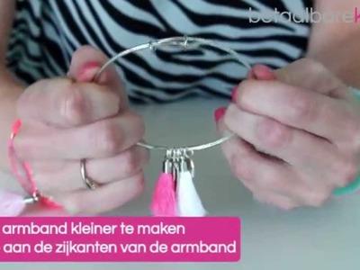 DIY: Hoe maakt u een Bangle bracelet?