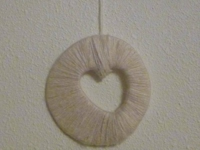 DIY Yarn Decoration
