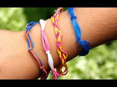 Rainbow Loom Nederlands - Summer Knots - Loom bands