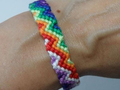 Zigzag regenboog