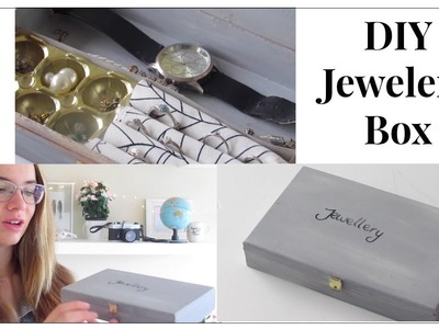 DIY Jewelry Box || Jorine's Life
