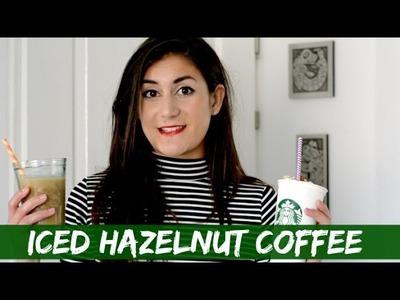 DIY Starbucks Iced Hazelnut Macchiato En Frappuccino