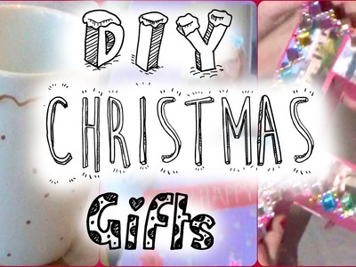 DIY Christmas gifts #GirlyChristmas