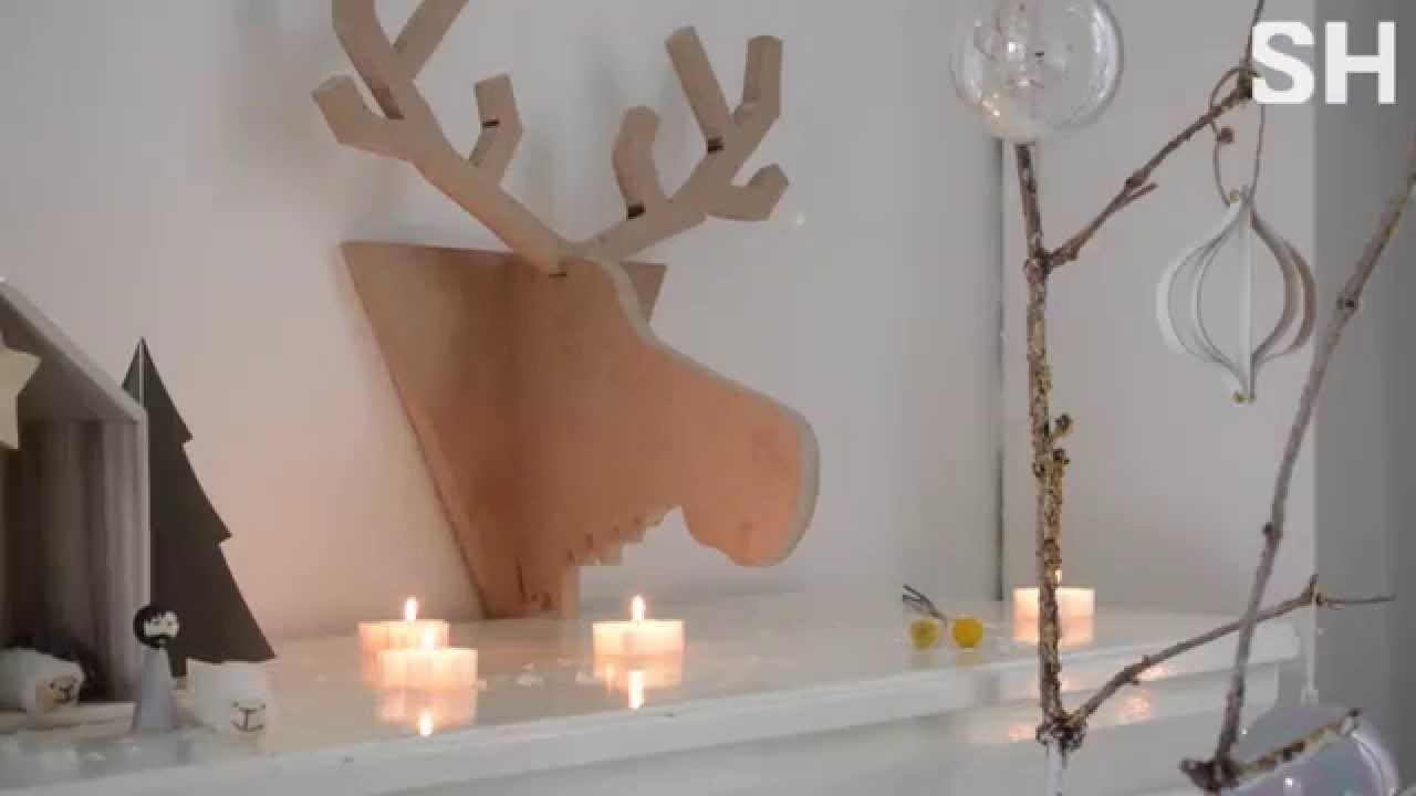 Diy Kerst Rudolph Wanddecoratie