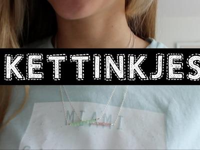 DIY Kettinkjes ♥ MADEBY Noelle
