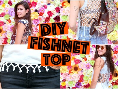 DIY Fishnet top - makkelijk & budgetproof!