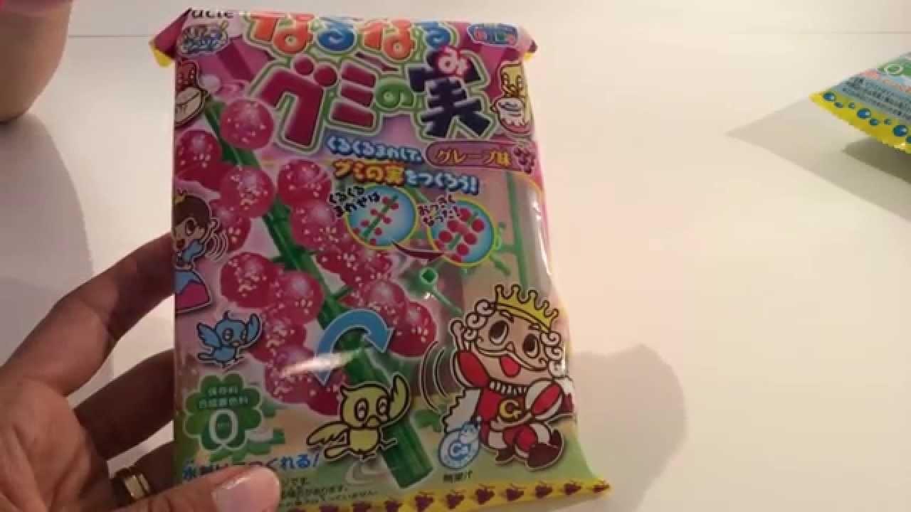 DIY: Japans snoep maken, Popin Cookin Gummy Tree Grape