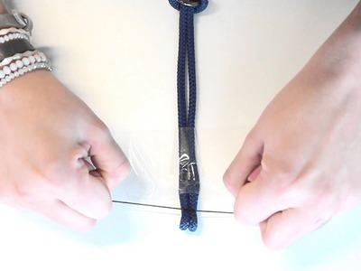 DIY: Armband met beugelslot en macramé