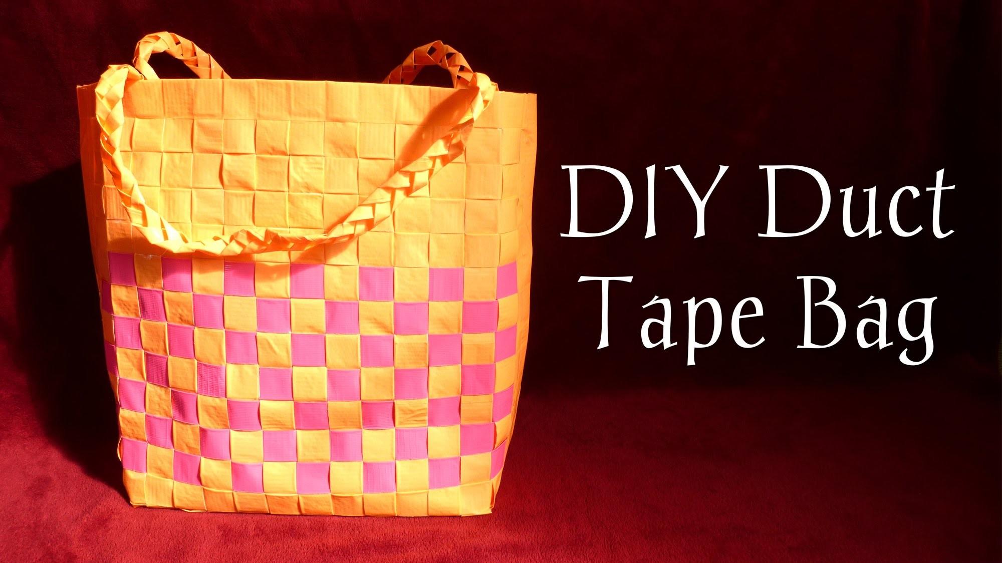 DIY Duct Tape Bag