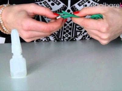 DIY: Hoe maakt u een armband met DQ metalen haaksluiting met slider?