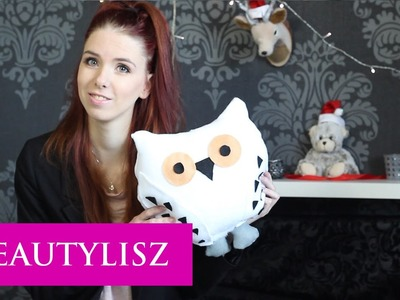 DIY Owl Pillow Hedwig | Beautylisz