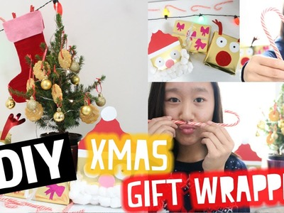 DIY Xmas gift wrapping | #XmasWithVal