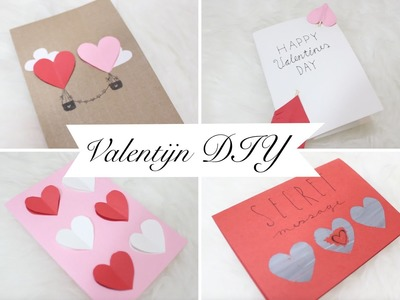 DIY. 5x Valentine cards!
