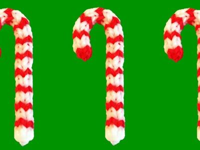 Loom Bands Nederlands 3d Kerst Zuurstok (Rainbow Loom Eveiline Maureen + DIY Mommy)