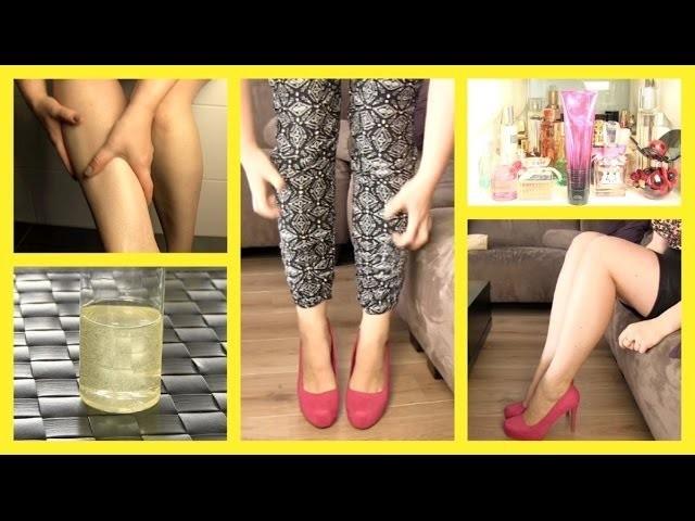 Tips tegen jeukende droge benen ❤ DIY