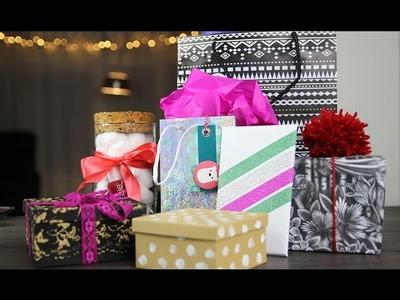 7 Bijzondere manieren om cadeautjes in te pakken