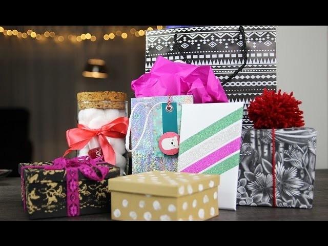 7 Bijzondere manieren om cadeautjes in te pakken, My Crafts and DIY Projects