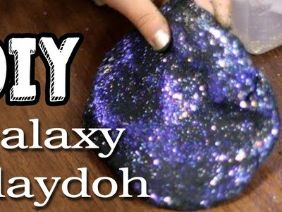 DIY GALAXY PLAYDOH. PLAYDOUGH | Onzin of Zinnig