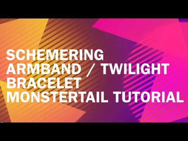 Koolloomers | Twilight Bracelet Monstertail loom Tutorial (schemering loom armband) Nederlands