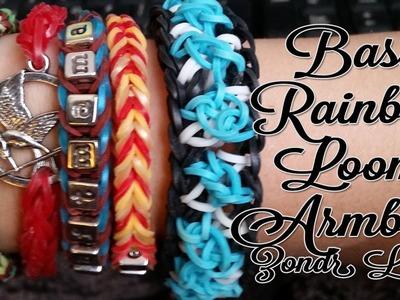 Rainbow Loom Nederlands Basis Armband Op je Vingers Maken! Zelf Ook Een Armband Maken
