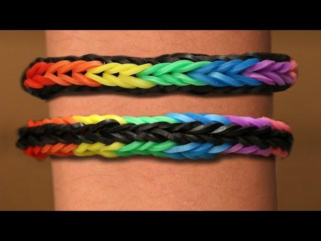 Rainbow Loom Nederlands - Cross Quadfish || Loom bands, rainbow loom, tutorial, how to
