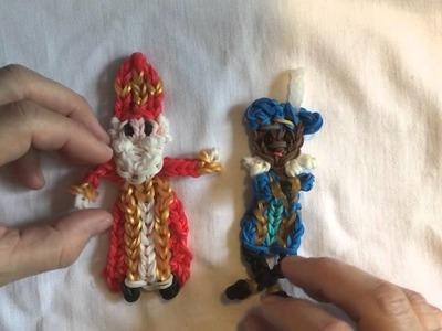 Rainbow loom Nederlands: ontwerp wedstrijd. design contest thema: Sinterklaas, WIN ACTIE