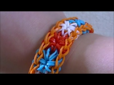 Tutorial Starburst Loom Bracelet. Nederlands, Dutch
