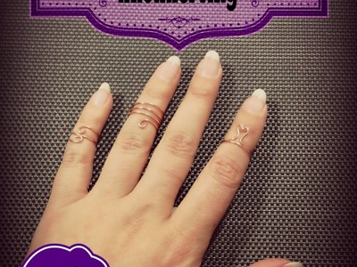 DIY knokkel ring