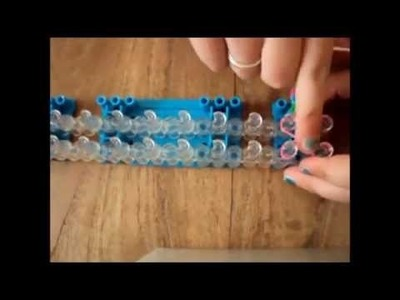FUN LOOM: Eigen gemaakte armband (Tutorial)