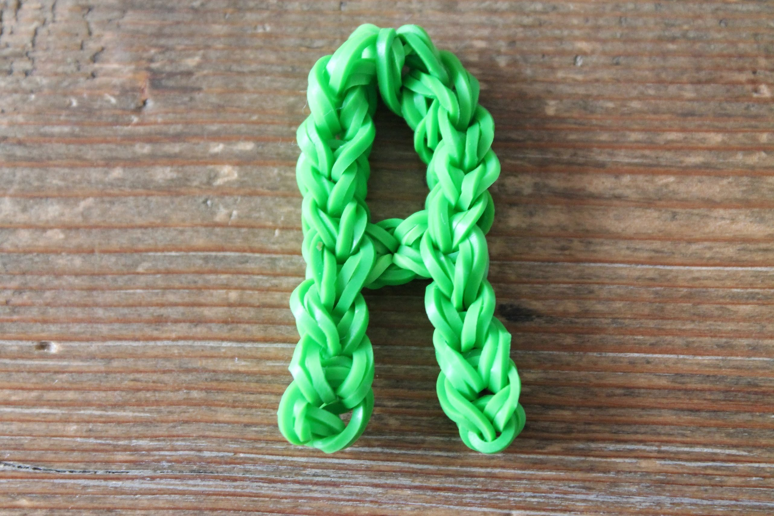 Rainbow loom Nederlands, letter A